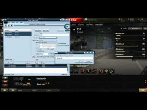 Cheat Engine 6.2 World Of Tanks Proč Mi Nejde Nic Koupit!!!!!
