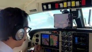 Piper Cheyenne II ILS Approach