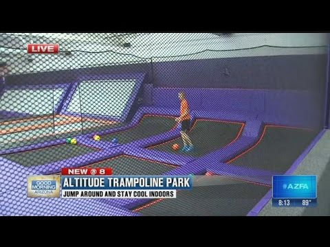 Download Stay cool at Altitude Trampoline Park