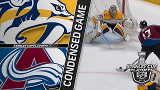 04/22/18 First Round, Gm6: Predators @ Avalanche