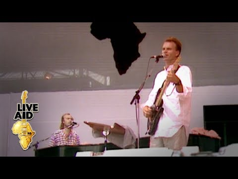 Sting / Phil Collins - Every Breath You Take (Live Aid 1985)