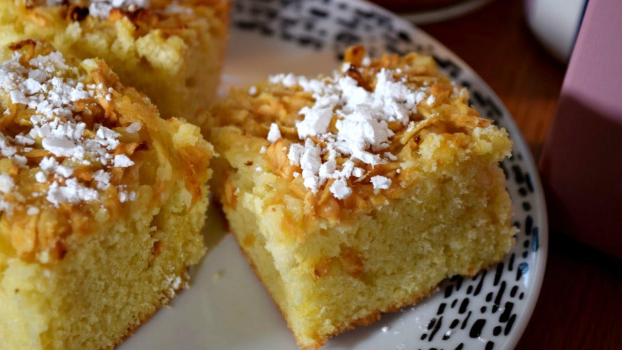 Apple Tea Cake Recipe - YouTube