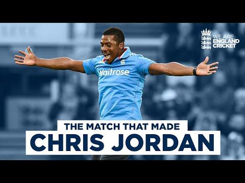 The Match That Made Chris Jordan | 5 Wickets Against Sri Lanka's Greatest! | Eng v SL, 3rd ODI 2014