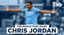 The Match That Made Chris Jordan 5 Wickets Against Sri Lankas Greatest Eng v SL 3rd ODI 2014