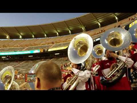 Alabama band Tubas at Tennessee game