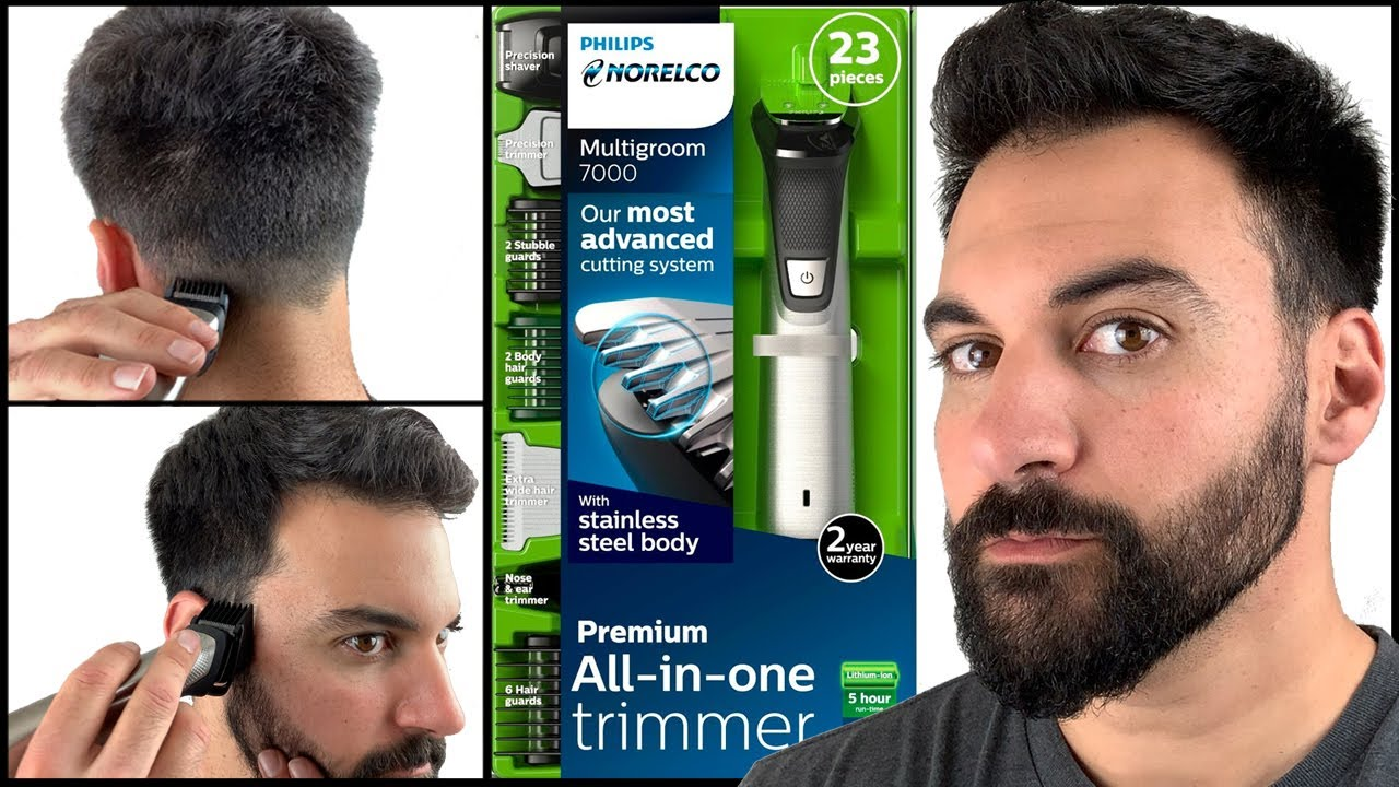 DIY Home Haircut - How To Cut Your Own Hair - Philips Norelco Multigroom  10 - MG10