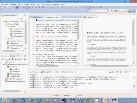 LaTeX-Einführung: 06. Textstruktur