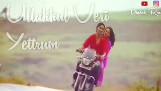 Polladhavan Minnalgal Koothaadum song lyrics whatsapp status video love linez