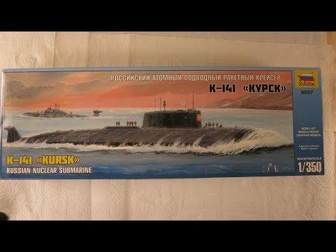 Zvezda Submarine K 141 Kursk Putty fix and Painting