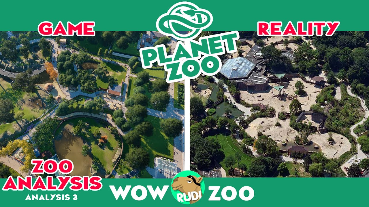 PLANET ZOO Comparing with a real zoo – Zoo Duisburg