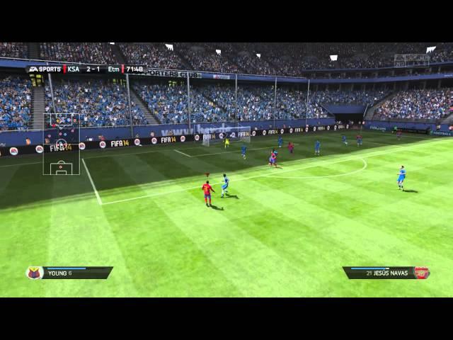 FIFA 14 goals
