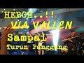 HEBOH VIA VALLEN SAMPAI TURUN PANGGUNG...!!! VIA VALLEN LIVE MOG MALANG 15 APRIL 2018 1 MALL NYANYI