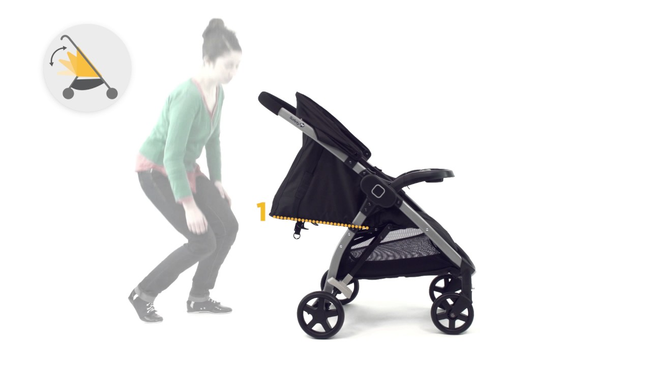 Safety 1st Step & Go 2 in 1 travel system instruction video - YouTube