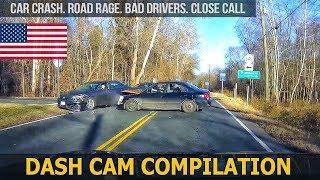 Dash Cam Compilation (USA) Car Crashes in America  2018 # 28