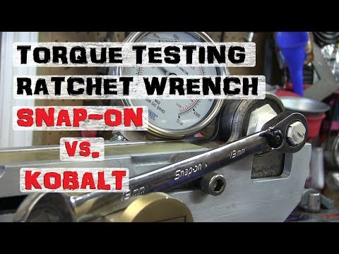 RATCHET WRENCH Shootout | Snap-on Kobalt