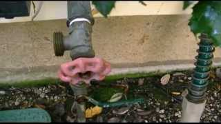 How To Blow Out (Winterize) In-Ground Sprinklers (2014)