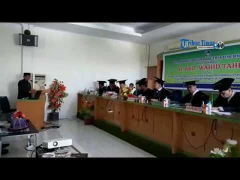 Suasana Ujian Promosi Doktor Kakanwil Kemenag Di Pascasarjana UMI