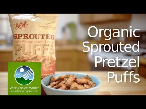 Organic Sprouted Pretzel Puffs - Wise Choice Market