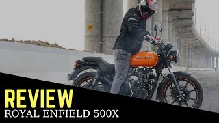 Royal Enfield Thunderbird 500x road test review