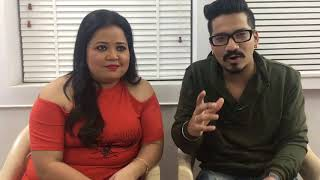 bharti singh and harsh limbachiya in a quick chat with TOI
