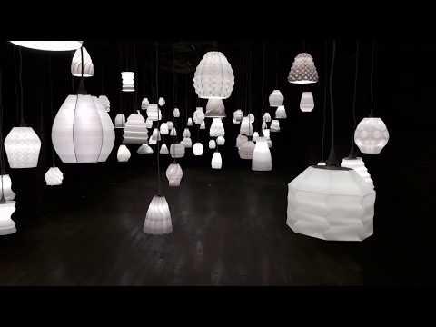 """0 - """"All the Lights"""": Einhundert 3D-gedruckte Lampen zur Feier der weltweiten Individualität"""
