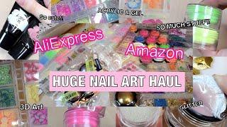 Beginner Nail Tech Haul, AliExpress Nail Art Haul 2021, Amazon Nail Art Haul, Nail Art Supplies Haul