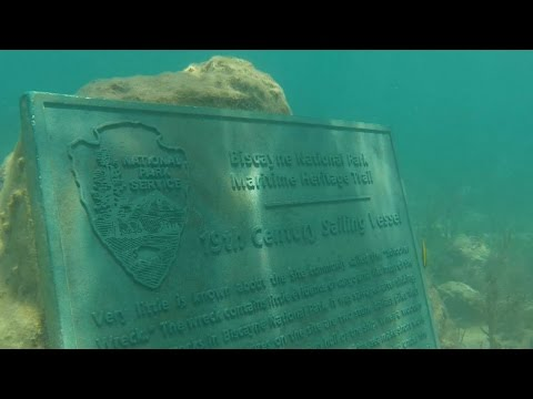 Florida Travel: Dive The Maritime Heritage Trail, Biscayne National Park
