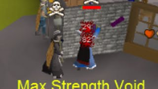 BigBicep - Osrs - #3 Max Strength Void Rushing Commentary - Runescape 2007