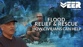 Flood Relief & Rescue Mission carried out by 12 Civilians | India's Citizen Squad E3P4