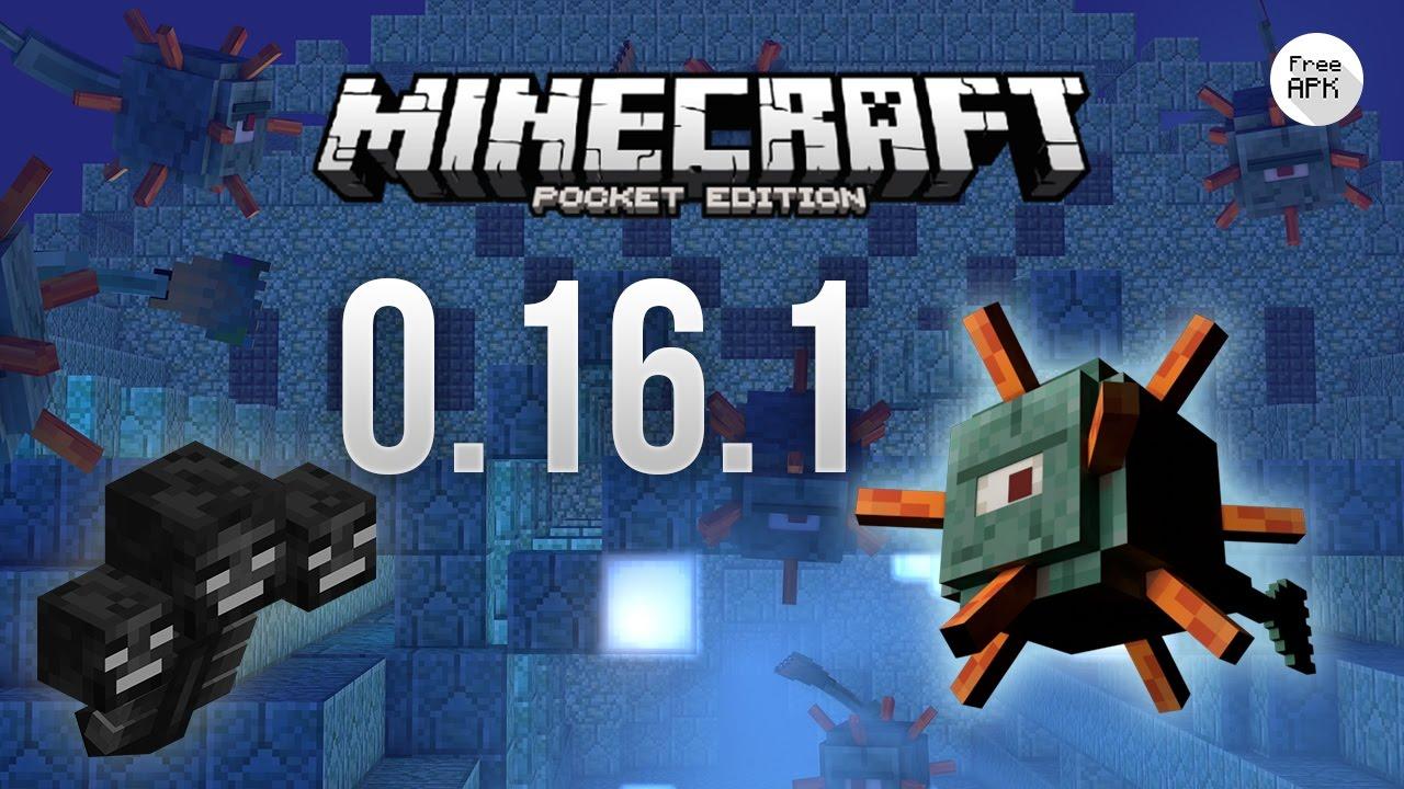 Minecraft Pocket Edition - 0.16.1 APK - YouTube