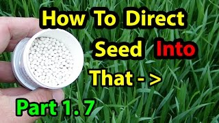 True NO Till Gardening Seeding Building Soil for Homesteading Vegetables for beginners 101. Part 1.7