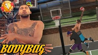 SLASHER GOING CRAZY AT THE PARK! POWER Contact Dunks! NBA 2K17 MyPark Gameplay