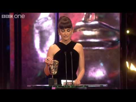 Penelope Cruz wins Best Supporting Actress BAFTA - The British Academy Film Awards 2009 - BBC One