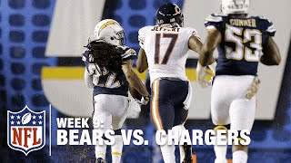 Jason Verrett Picks Off Jay Cutler & Takes It All the Way! | Bears vs. Chargers | NFL