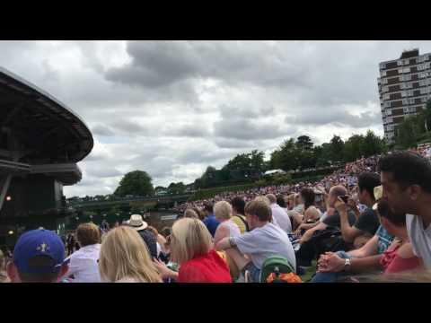 Roger Federer wins Wimbledon 2017 - Henman Hill Reaction [HD 1080p]