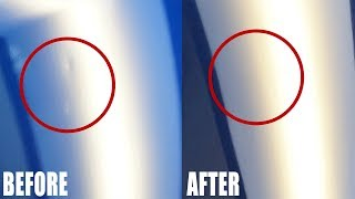 How to Repair a Dent with Paintless Dent Repair