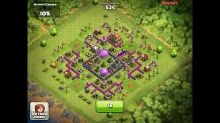 Clash of clans- Clan castle troops are your friends