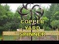 Kinetic Yard Art WIND SPINNER (copper pinwheel) Shopko