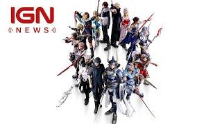 Play The Dissidia Final Fantasy NT Beta Today - IGN News