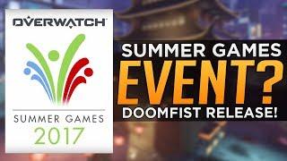 Overwatch: Doomfist RELEASE DATE! - Summer Games 2017 EVENT!?