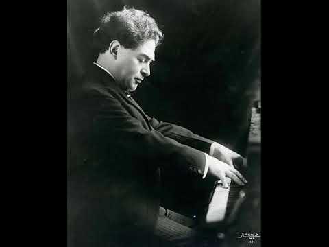 Harold Bauer - 1934 unreleased broadcast (Beethoven, Brahms, Chopin)