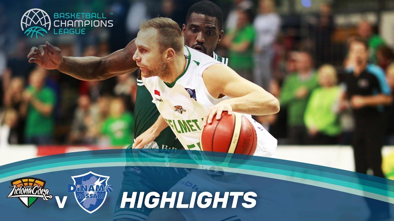 Stelmet Zielona Gora v Dinamo Sassari - Highlights ...