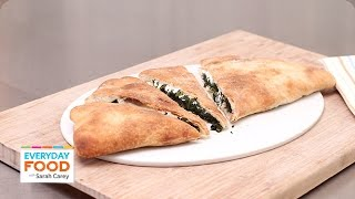 Spinach And Cheese Calzone - Everyday Food With Sarah Carey