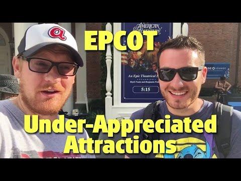 3 Under-Appreciated Attractions at Epcot | Walt Disney World