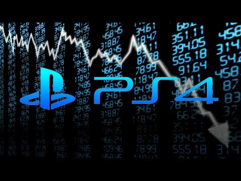 Sony Sees HUGE Stock Drop Based on WEAK PS4 Business | PS5 Coming Early 2020?