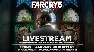 Far Cry 5: LIVESTREAM - Pre-launch Gameplay With Community Developers | Ubisoft [NA]
