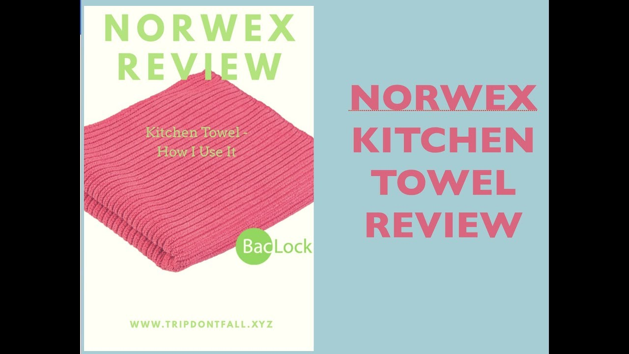Norwex Kitchen Towel Review Youtube