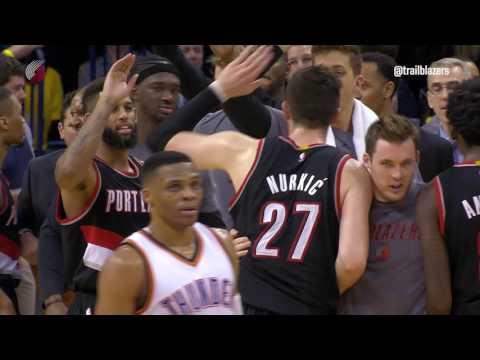 Highlights: Portland 126, Oklahoma City 121