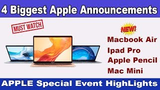 Apple October 2018 Special Event Highlights | Malayalam