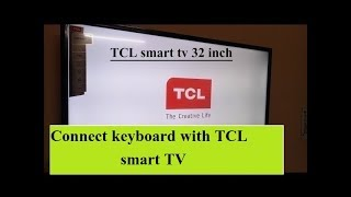 How to connect keyboard with Tcl smart tv